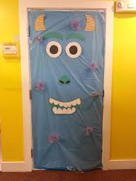 sully from monsters inc halloween door crafts pinterest