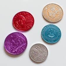 mardi gras deblume aluminum and anodized aluminum coins coinable