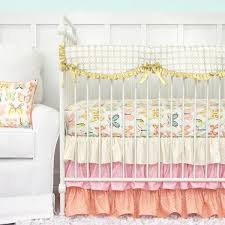 Pink And Gold Nursery Bedding Pink Crib Bedding Caden Lane U2013 Tagged
