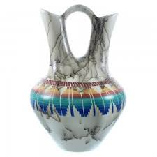 Navajo Wedding Vase Native American Pottery American Indian Pottery Native