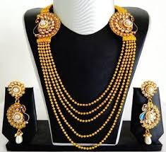 gold rani haar sets south indian rani haar set one gram gold plated peacock pearl