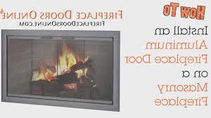 fireplace prefab fireplace doors room ideas renovation modern in