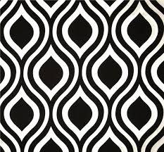 Geometric Drapery Fabric Charcoal U0026 White Geometric Modern Home Decor Fabric By The Yard