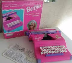 barbie corvette vintage vintage barbie typewriter in rainhill merseyside gumtree