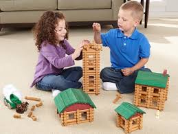lincoln logs returned to made in u s a of real wood turns 100