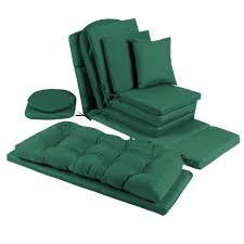Outdoor Chair Solid Hunter Green Indoor Outdoor Chair Cushions Collection