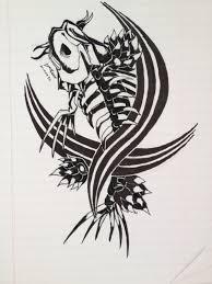 koi carp tattoo images download tribal koi tattoo danielhuscroft com