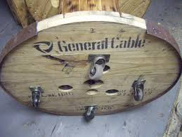 Wire Spool Table Rustic Rediscovered Cable Spool And Barrel Table