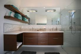 Spa Look Bathrooms - 30 bathrooms with l shaped vanities