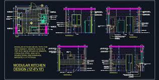 modular kitchen design detail 12 u0027 6x10 u0027 plan n design