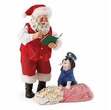 clothtique santa new for 2017 department 56 possible dreams postal inspector
