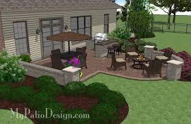 Houzz Backyard Patio by Garden Design Garden Design With Patio Design Ideas Pictures