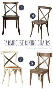 Farm House Dining Chairs Where To Buy X Back Farmhouse Dining Chairs Christinas Adventures