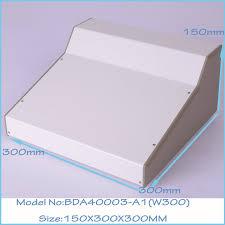 bureau logement blanc couleur abs en plastique panneaux et fer cas corps de bureau