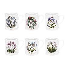 portmeirion botanic garden 9oz breakfast mug set of 6 amazon