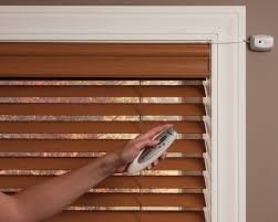 Craftsman Style Window Treatments Motorized Electric Blinds Aaa Blinds U0026 Kiwi Designs Cary