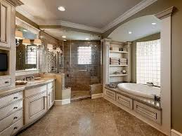 bathroom cool master bathroom design with fireplace and stained