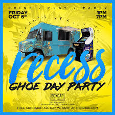 recess ghoe day party 10 06 17 tickets fri oct 6 2017 at 1