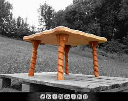 Wood Table Base by Coffee Table Base Etsy