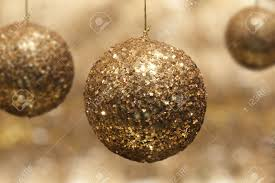 gold glitter bauble stock photo picture and