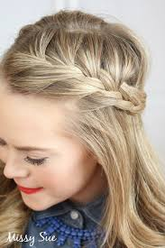 hair braid across back of head braid 17 french braid tie back