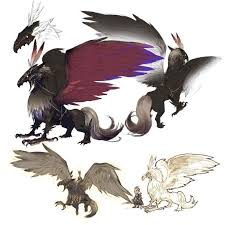 Final Fantasy The 4 Heroes Of Light Final Fantasy The 4 Heroes Of Light Gryps Concept Creatures
