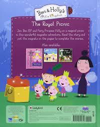 ben holly u0027s kingdom royal picnic magnet book ben