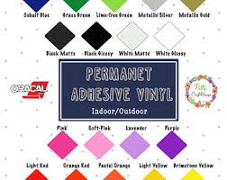 oracal 651 12x12 sheets adhesive vinyl pick your color