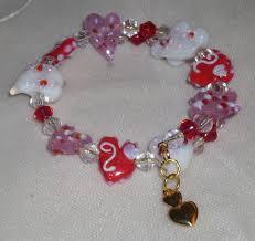 double heart charm bracelet images Cookyanimal 39 s creations jpg