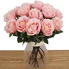 amazon com bringsine artificial flowers silk flowers artificial