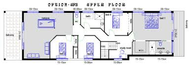 house plans for wide lots sophisticated 9m wide house plans images image design house plan
