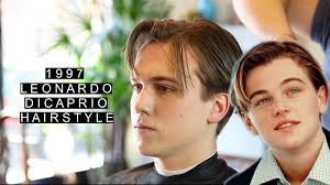 what is dicaprio s haircut called 1997 leonardo dicaprio hairstyle jack dawson long length