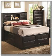 california king storage bed frame home design ideas