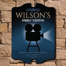 Personalized Wall Decor Movie Theater Wall Decor Wayfair