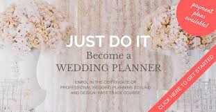 becoming a wedding planner best wedding planning courses online