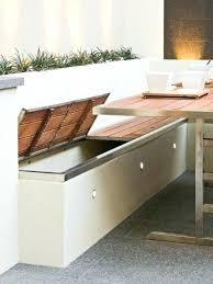 Corner Storage Bench Outdoor Seating Storage Bench Build Corner Storage