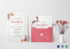 register for housewarming housewarming breakfast party invitation design template in word