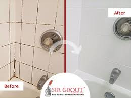 Bathroom Grout Cleaner From Grimy To Astonishing See How A Grout Cleaning Service In