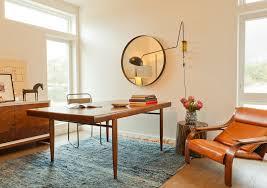 Midcentury Modern Rug Impressive Mid Century Modern Home Office Ideas Mid Century Modern