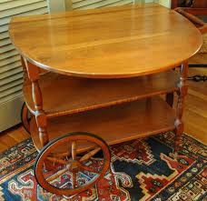 Portable Kitchen Island With Drop Leaf Kitchen Island Rectangle Table Top Featuring Carving Wood Frames