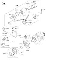 2007 kawasaki ninja 250r ex250f starter motor parts best oem