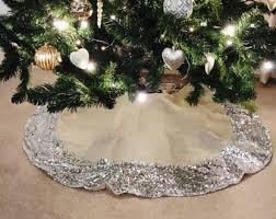 burlap tree skirt sequin tree skirt satin tree