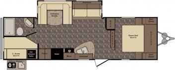 Motorhome Garage Plans by Fleetwood Motorhome Floor Plans