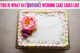 how to make a wedding cake for under 50 using a grocery store