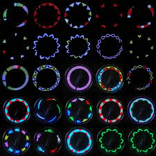 14 leds bicycle spokes lights color changing bicycle light sales