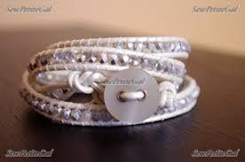 wrap bracelet tutorials images Sewpetitegal leather wrap bracelet video tutorial JPG