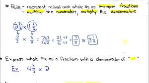 Mixed Numbers To Improper Fractions Worksheet Multiplication Of Improper Fractions Boxfirepress