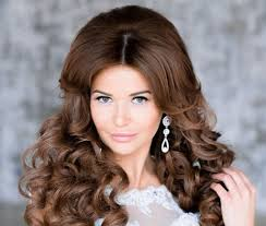 wedding day hairstyle for long hair the best beach wedding day