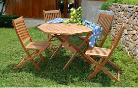 Wooden Outdoor Patio Furniture by Patio Furniture By Material Wood Patio Casual