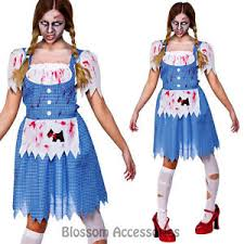 k251 ladies zombie dorothy country walk dead gory halloween